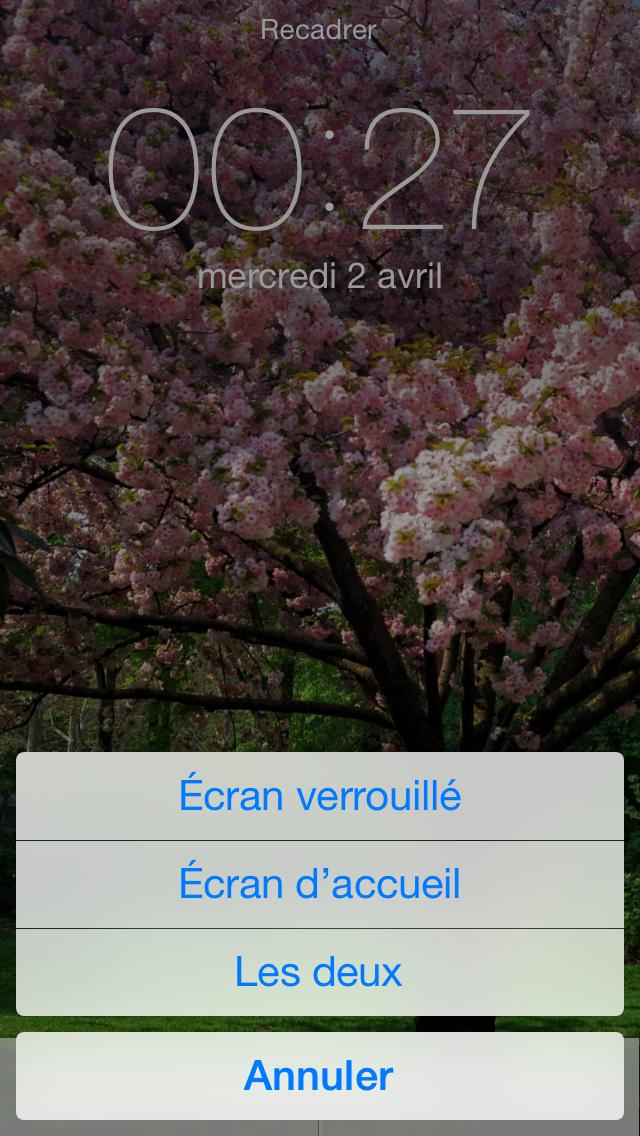 Astuce Mettre Une Image En Fond D Ecran Sur Votre Iphone Ios 7 1